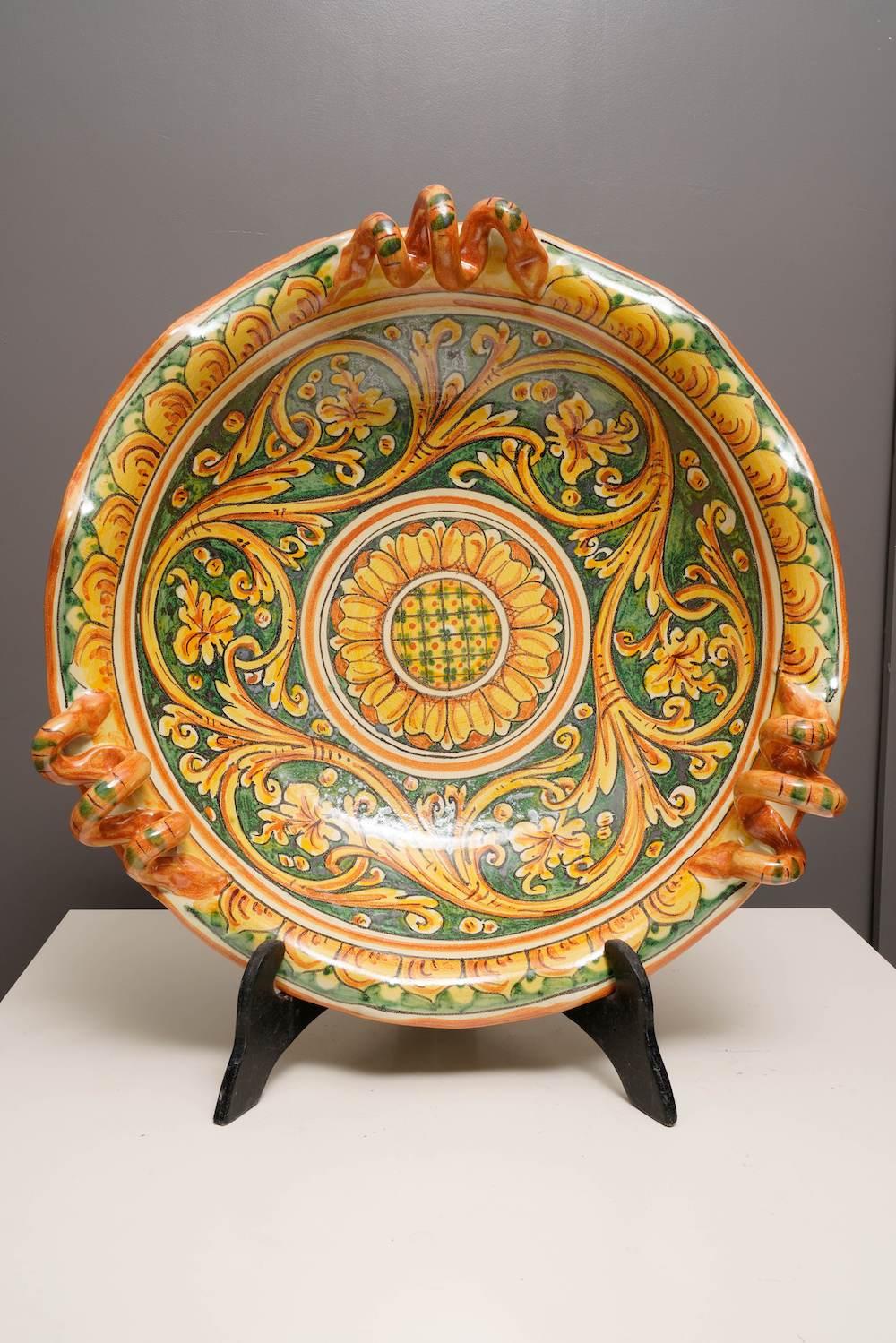 piatto ceramiche Scarlatella
